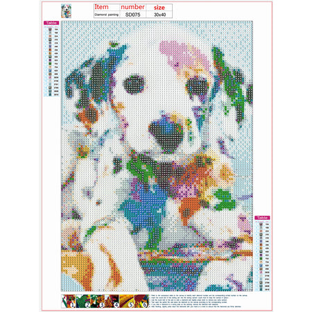 Diamond Painting | Puppy | DIY Paint with Diamonds