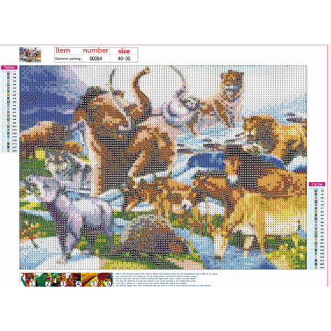 Diamond Painting | Animals | DIY Paint with Diamonds