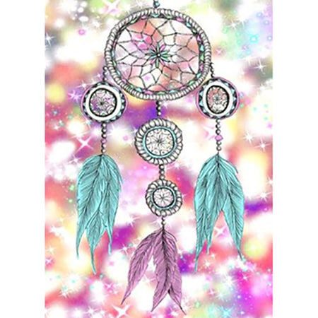 Diamond Painting | Dream Catcher | DIY Paint with Diamonds