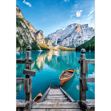 Diamond Painting | Braies Lake Italy | DIY Paint with Diamonds