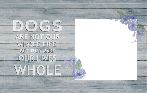 Custom Canvas Wall Art | They Make Our Lives Whole | Personalized Canvas Prints