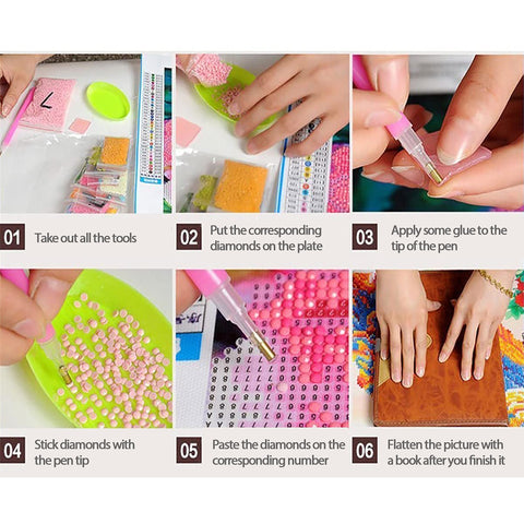 DIY Paint by Diamonds | 5D Diamond Painting Kits | Popular patterns in 2020