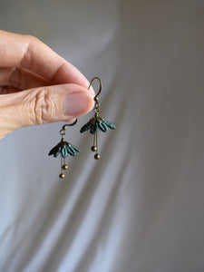 Ballerina // Lace Earrings ✴︎Forest Green✴︎