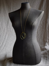 Load image into Gallery viewer, geometric long necklace vancouver