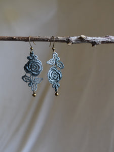 hand dyed lace earrings canada