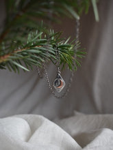 Load image into Gallery viewer, Forest Spirit Crescent Moon Necklace