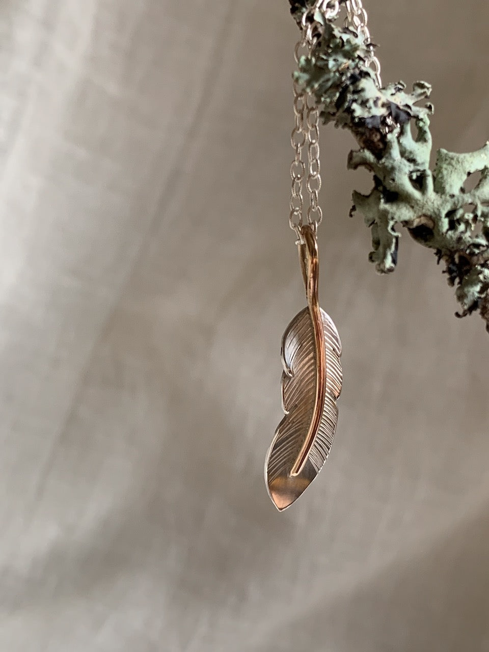 feather necklace for sale canada