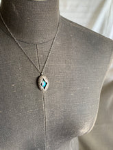 Load image into Gallery viewer, Shadow Box Necklace ✴︎Opal ✴︎c✴︎