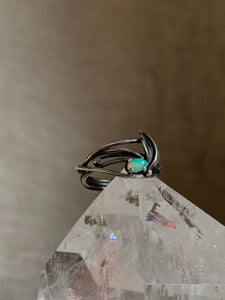 nature inspired opal ring