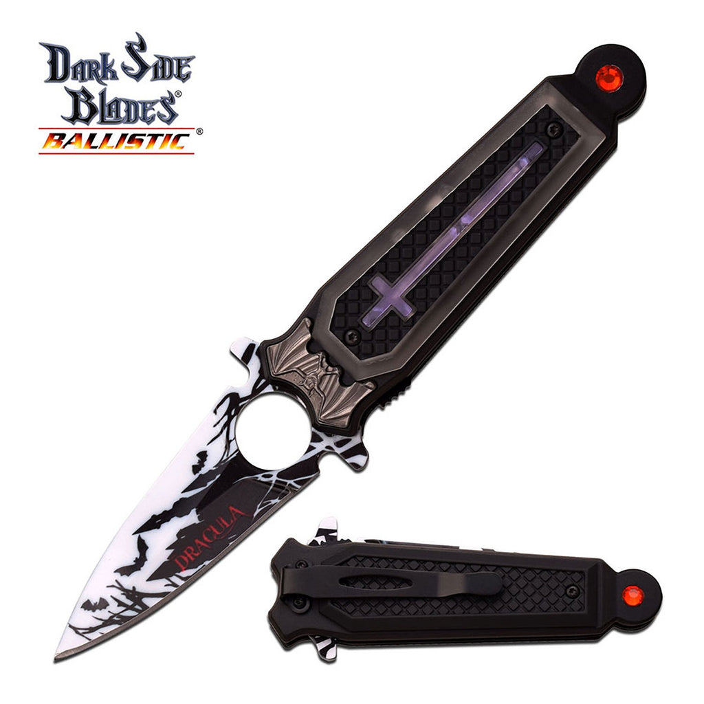 Dark Side Blades DS-A041PE Spring Assisted Knife