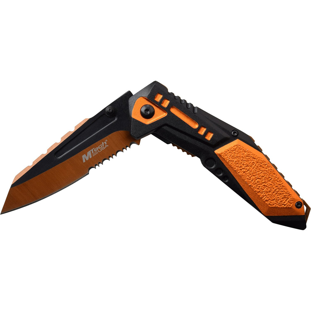 MTech MT-A1011OR Spring Assisted Knife