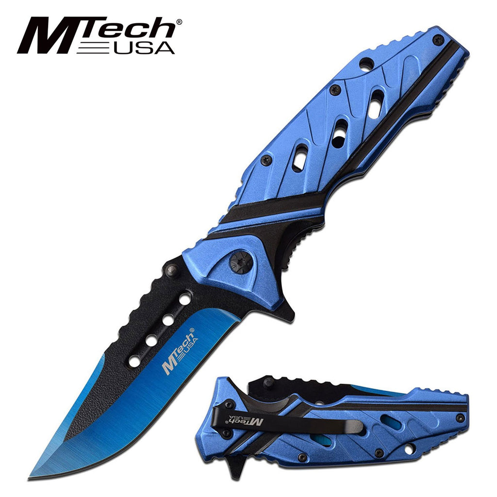 MTech MT-A1040BL Spring Assisted Knife