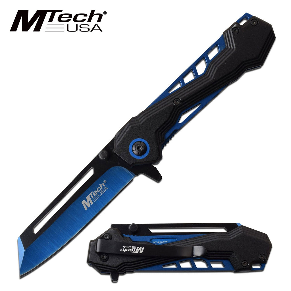 MTech MT-A1057BL Spring Assisted Knife