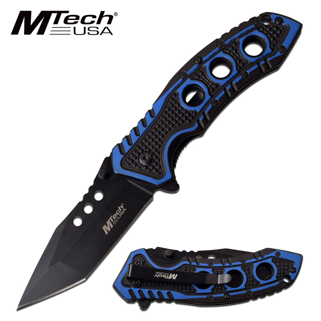 MTech MT-A1059BL Spring Assisted Knife