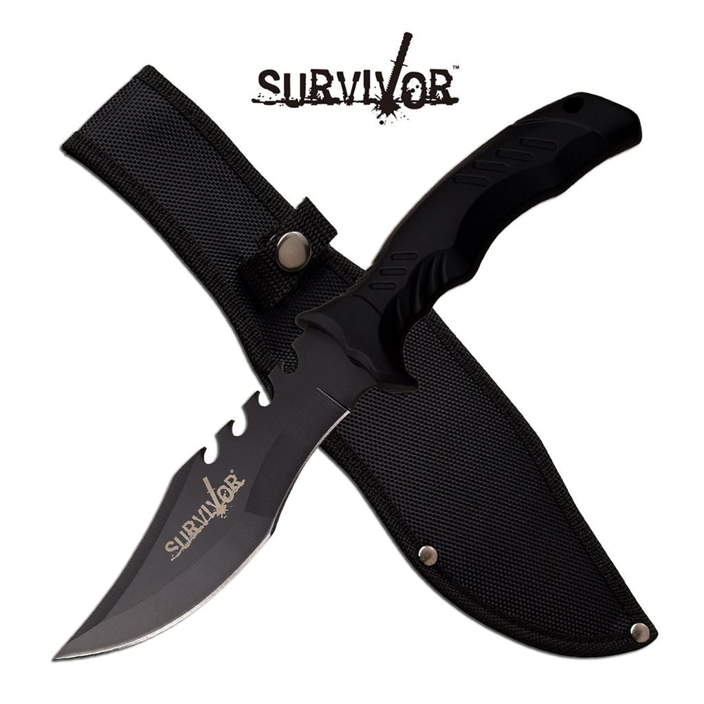 Survivor SV-FIX007BK Fixed Blade Knife