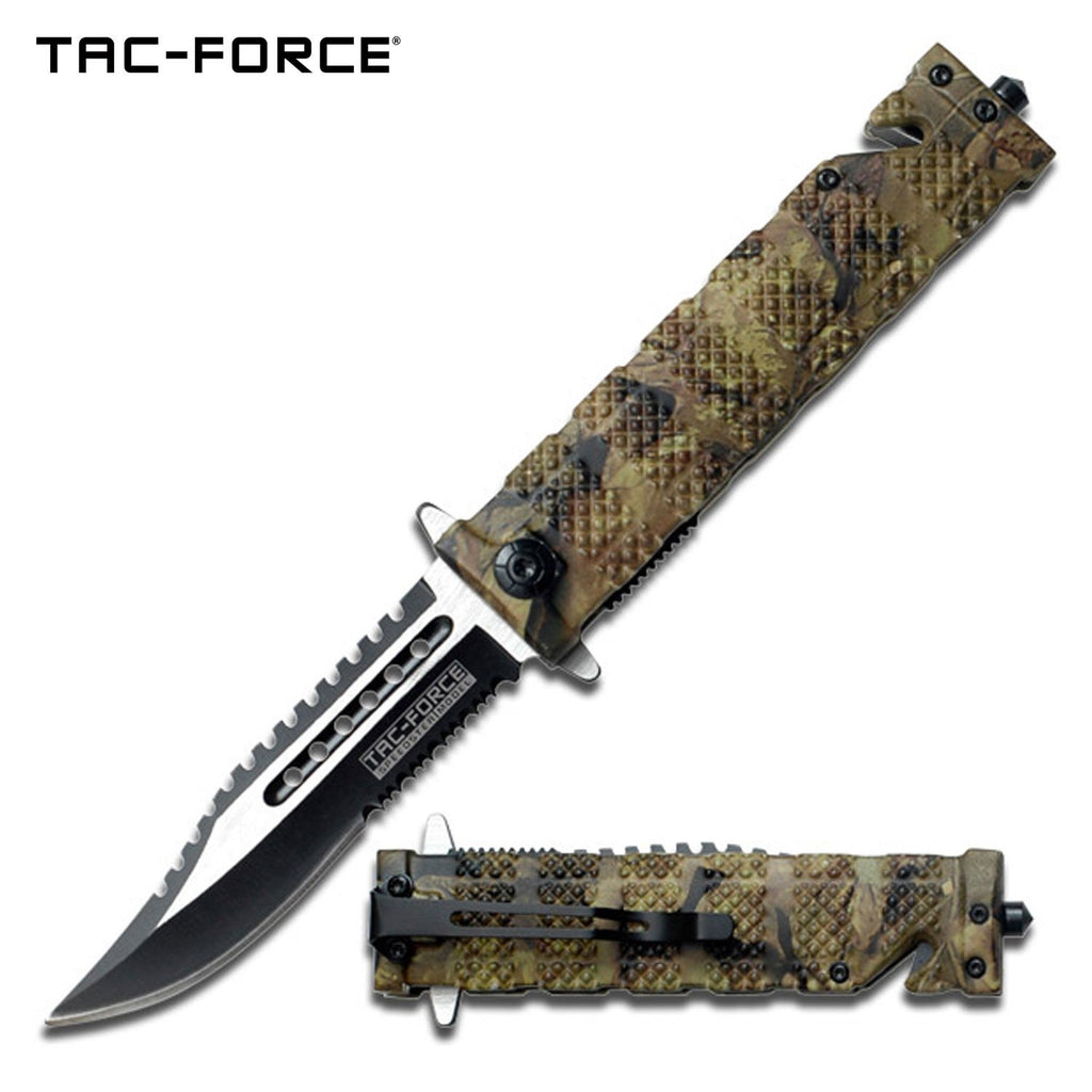 Tac-Force TF-710JC Spring Assisted Knife