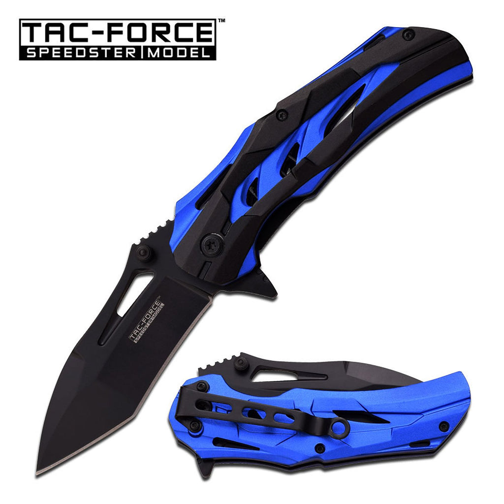 Tac-Force TF-915BL Spring Assisted Knife