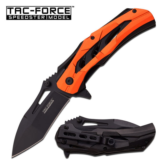 Tac-Force TF-915OR Spring Assisted Knife