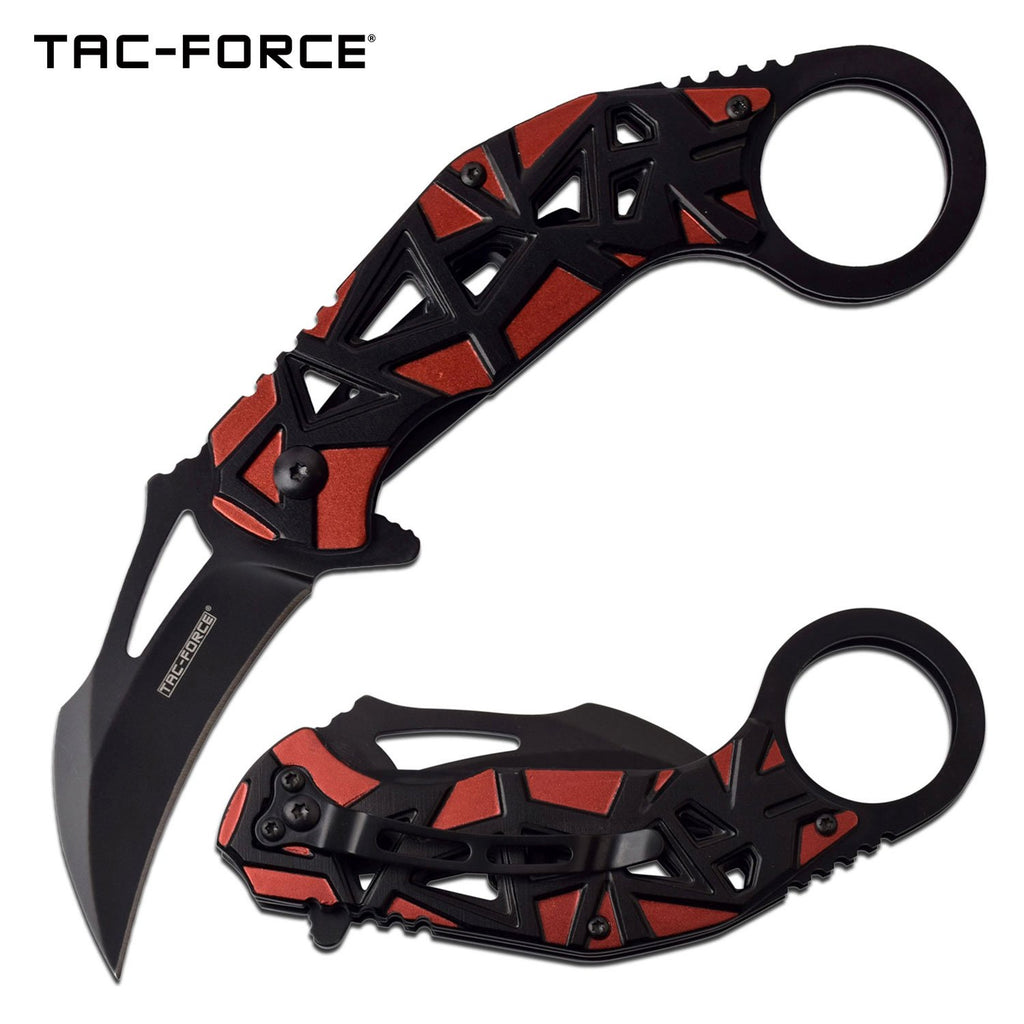 Tac-Force TF-961RD Spring Assisted Knife