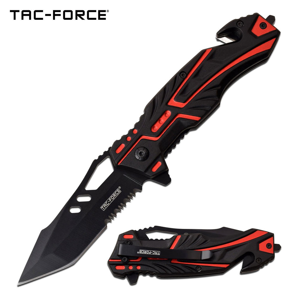 Tac-Force TF-971RD Spring Assisted Knife