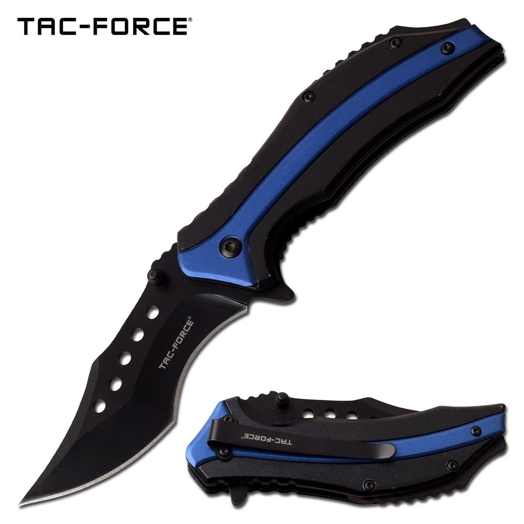 Tac-Force TF-989BL Spring Assisted Knife