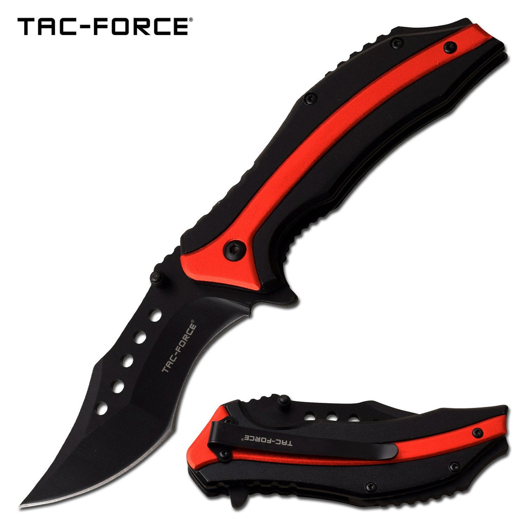 Tac-Force TF-989RD Spring Assisted Knife