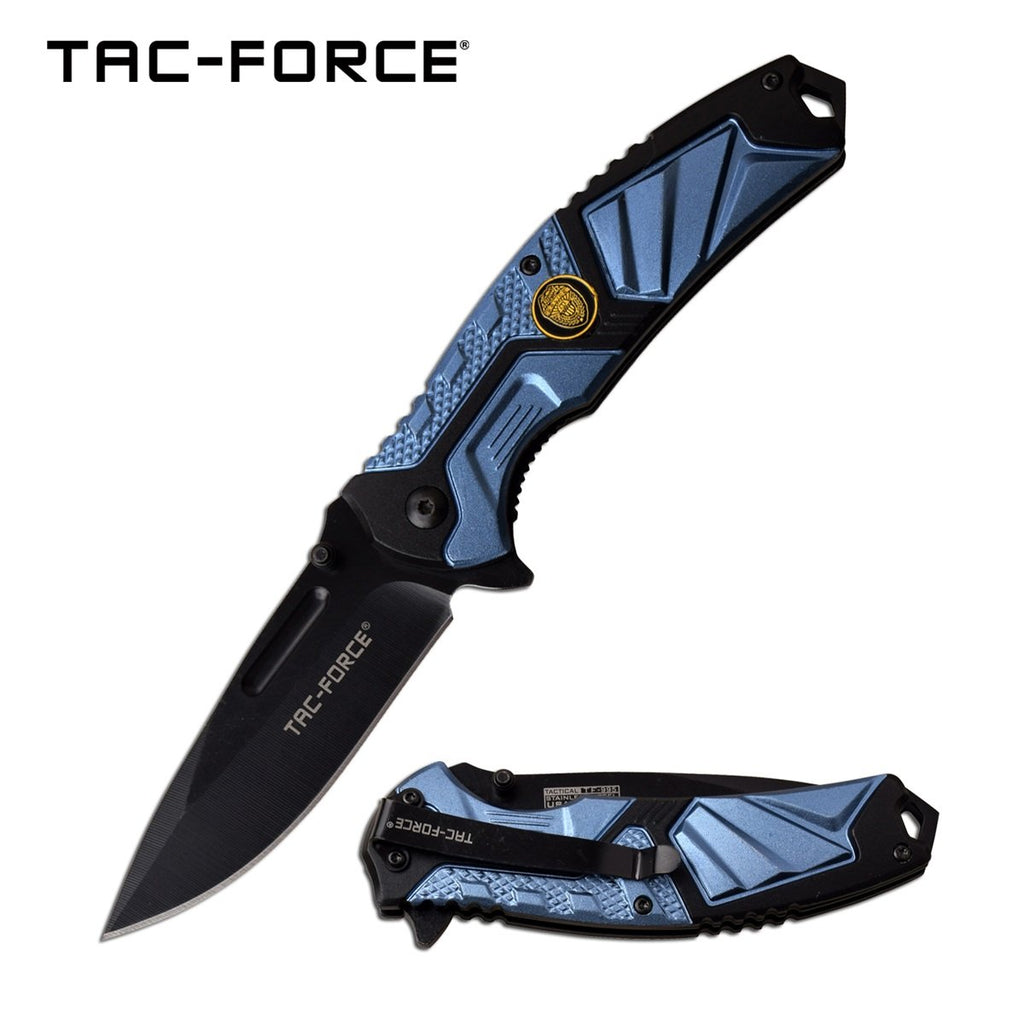 Tac-Force TF-995BL Spring Assisted Knife