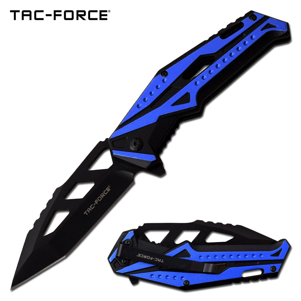 Tac-Force TF-996BL Spring Assisted Knife