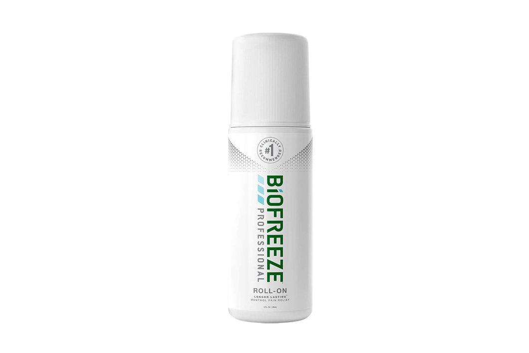 Biofreeze Professional: Menthol Pain Reliever - 3oz Roll-on Gel