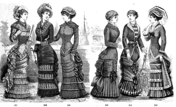 Victorian Era Fashion 1877-1882