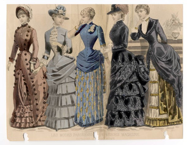 Victorian Era Fashion 1883 - 1890