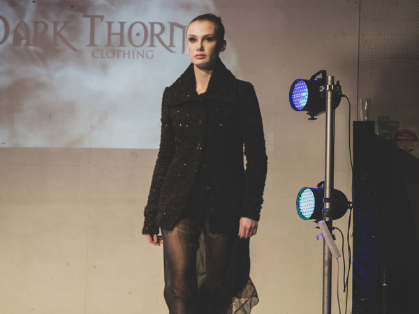 Raw Adelaide Signature - Dark Thorn Clothing on the Runway by Angela Brushe Photography