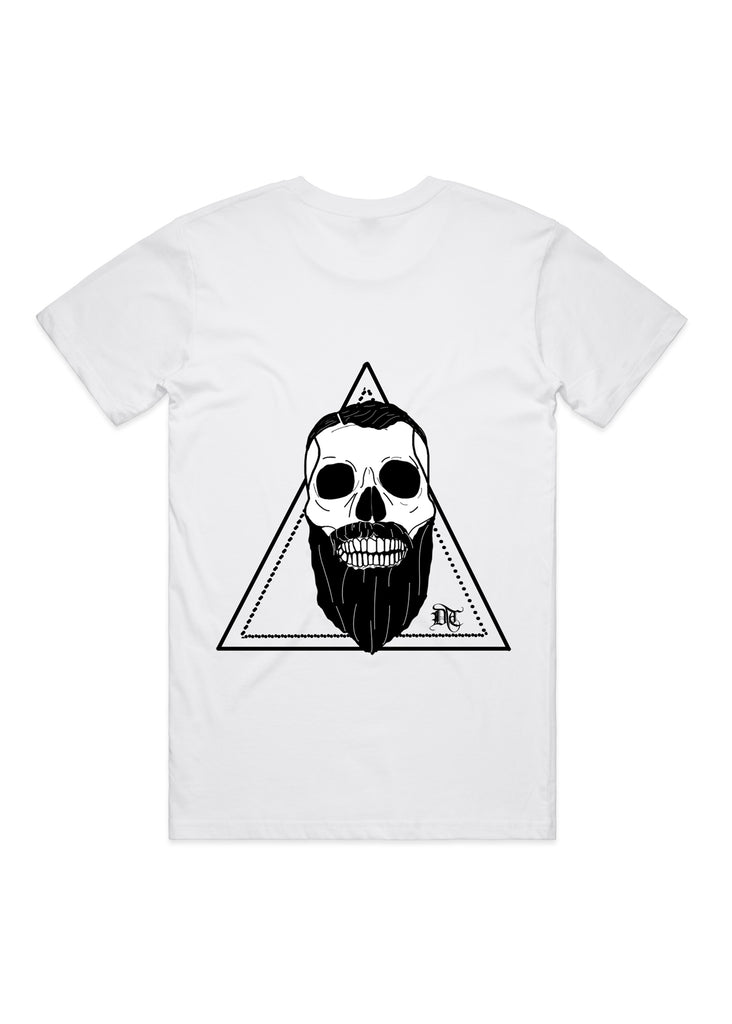 DTC Bearded Skull Back Print