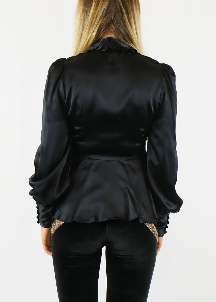 Edith Blouse Black
