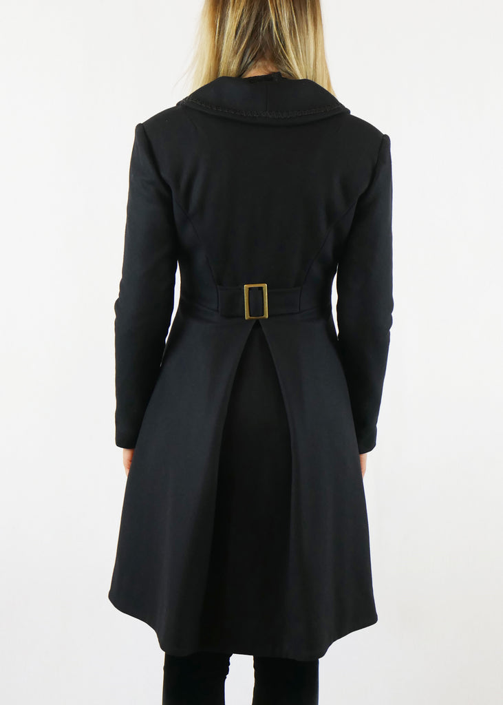 Mina Coat Black