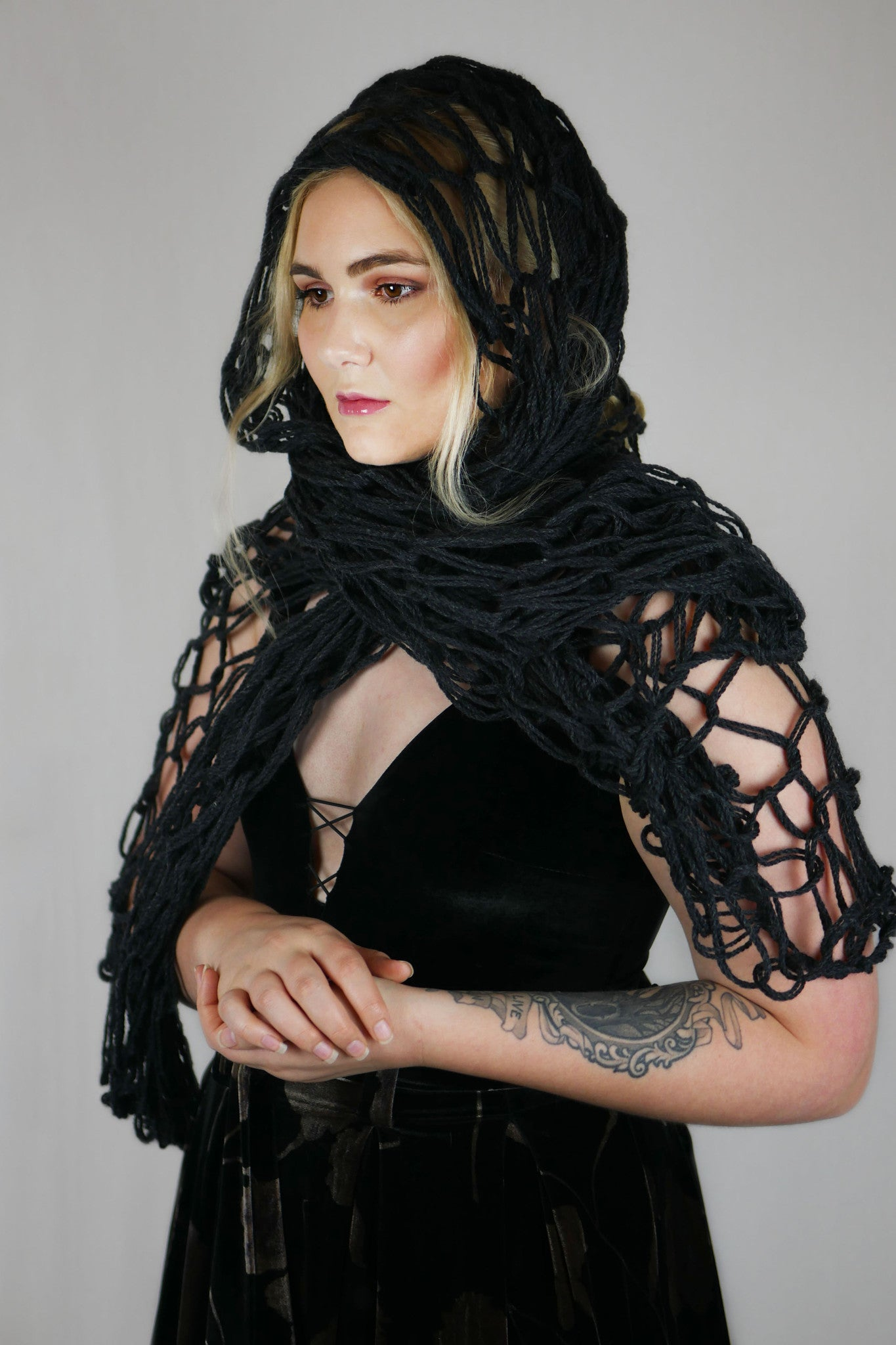 Mary Wool Shawl