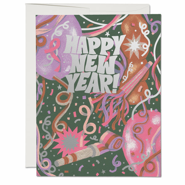 New Year's Noise ✹ Greeting Card