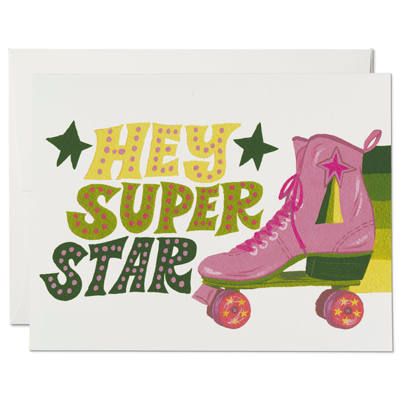 Roller Skate Superstar ✹ Greeting Card