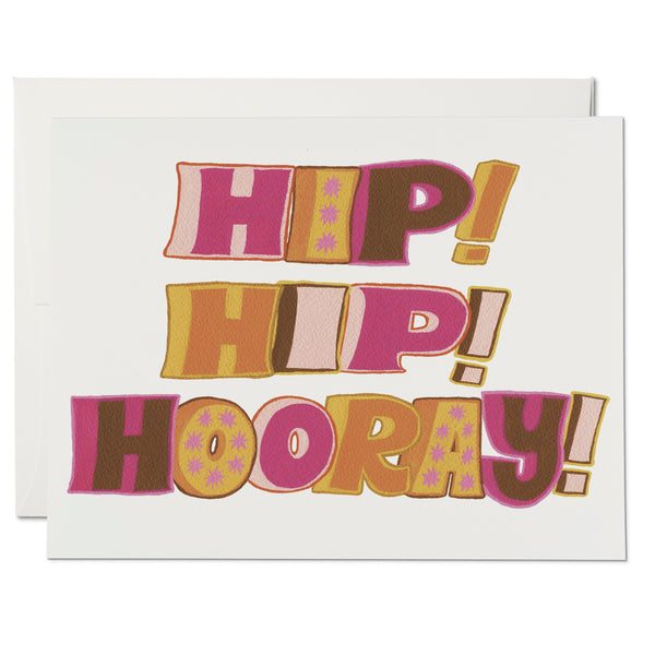 Hip Hip Hooray ✹ Greeting Card