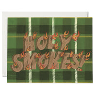 Holy Smokes ✹ Greeting Card