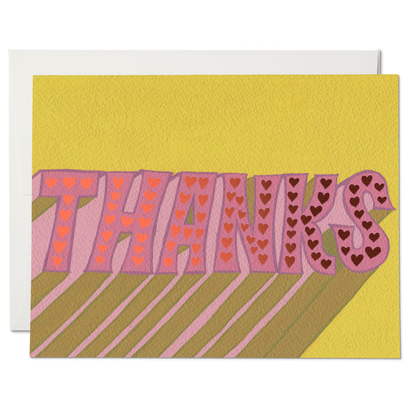 Thanks ✹ Greeting Card
