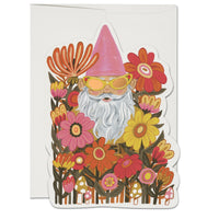Radical Gnome ✹ Greeting Card