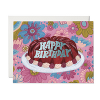 Jello Mold ✹ Greeting Card