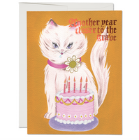 Kitty and Cake ✹ Greeting Card
