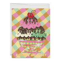 Birthday Sundae ✹ Greeting Card