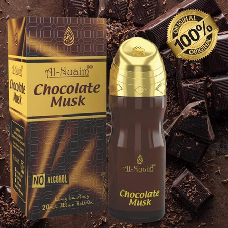 al nuaim chocolate musk attar 20ml
