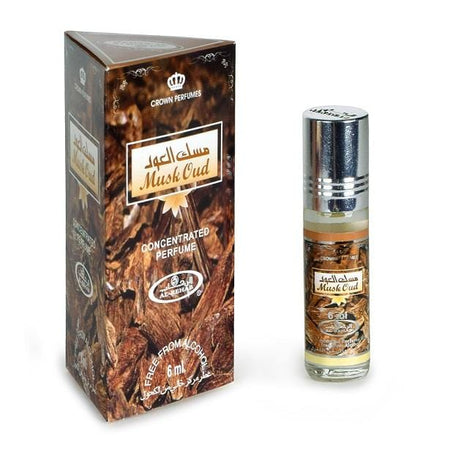 Al Rehab Musk Oud Attar 6ml Pack