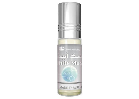Al Rehab White Musk Attar 6ml Bottle