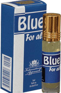 Aqdas Blue For All Attar 8ml