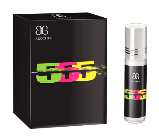 Arochem 555 6ml Roll-On Attar Pocket Perfume